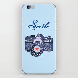 Let Your Smile Change the World.  iPhone Skin