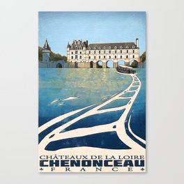 Chenonceau of France Canvas Print