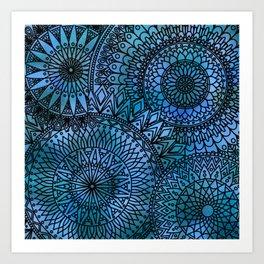 Shifting Currents - LaurensColour Art Print