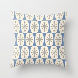 Mid Century Modern Atomic Fusion Pattern 105 Throw Pillow