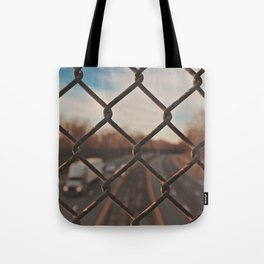 The Gated Highway Tote Bag
