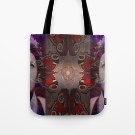 Crying over Butterflies Tote Bag