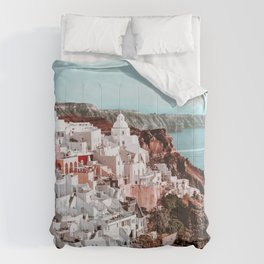 Santorini Greece, Fira Comforters