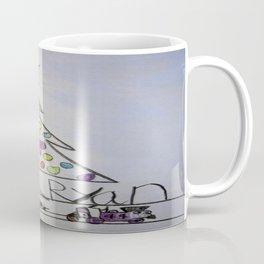 Christmas Tree Train Coffee Mug
