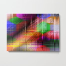 colourful linings II Metal Print