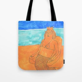 sand queen Tote Bag