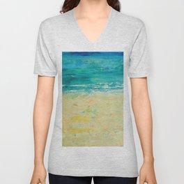 Get to the Beach! Unisex V-Neck