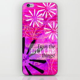 The Little Things iPhone Skin