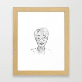 Jae Framed Art Print