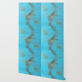 Earth. Texture. Blue. Jodilynpaintings. Brown. Abstract. Earths Crust. Wallpaper
