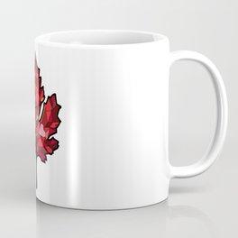 A Maple Leaf with Heart Coffee Mug