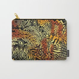 Africa style pattern Carry-All Pouch