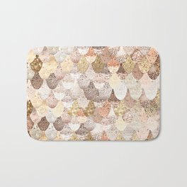 MERMAID GOLD Bath Mat