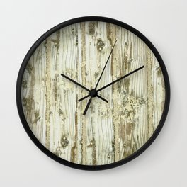 Wooden Plank Wall Clock