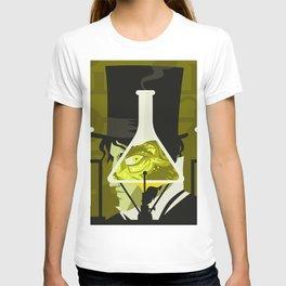 monster sci fi test lab transformation T-shirt
