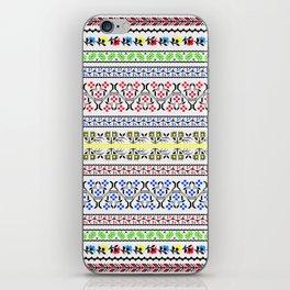 Folk Embroidery iPhone Skin