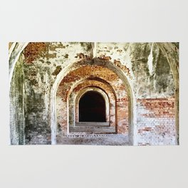 Arches of Fort Morgan Rug