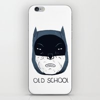 old school iPhone & iPod Skins featuring old school by Louis Roskosch