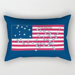 Shooting Stars - lives cross the sky Rectangular Pillow