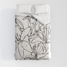 Day Lilies #2 Comforters
