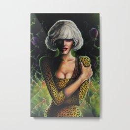 Audrey Metal Print