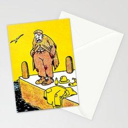 Cartoon comics 3 Stationery Cards