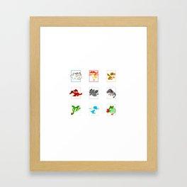 dragons httyd Framed Art Print