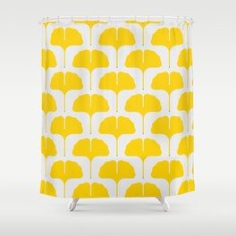 Ginkgo Leaf Shower Curtain