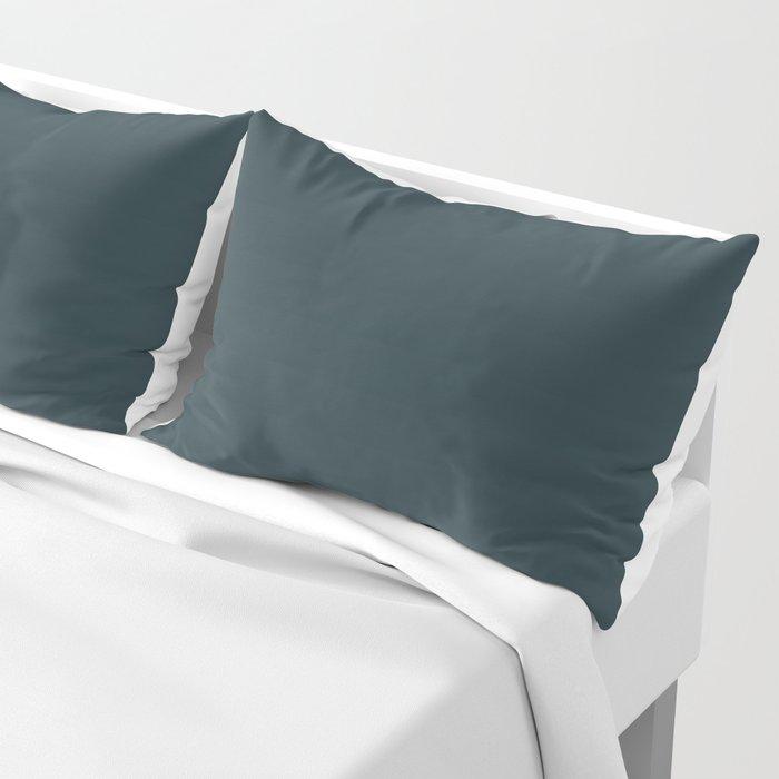 Cheap Solid Dark Slate Grey Color Pillow Sham
