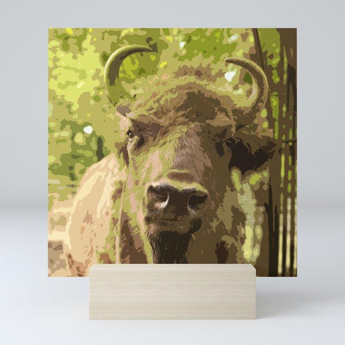 Bull #decor #buyart #society6 Mini Art Print