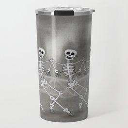 Dancing skeletons I Travel Mug