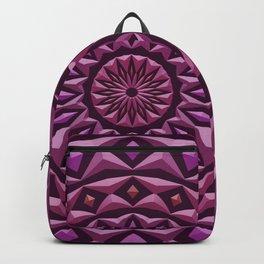 Carved in Stone Mandala Backpack
