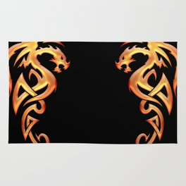Golden Dragon Rug