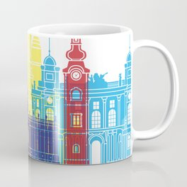 Zagreb skyline pop Coffee Mug