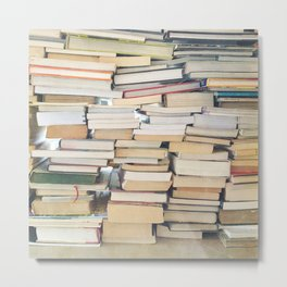 Books, Pages, Stories Metal Print