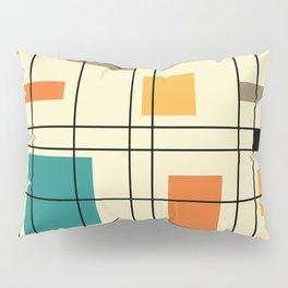 1950's Abstract Art Pillow Sham