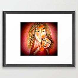Blessed Mother, Blessed Child! Framed Art Print
