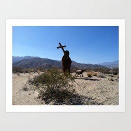 Desert Saint (California)--2013 Art Print