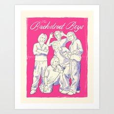 Bachstreet Boys Art Print