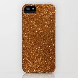 Soft Rose Gold Glitter iPhone Case