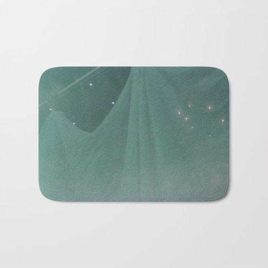 Green ghost Bath Mat