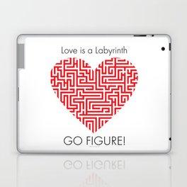 Love is a Labyrinth Laptop & iPad Skin