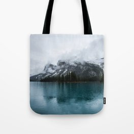 Smokey Mountains Landscape Photography Alberta Tote Bag