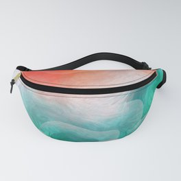 """Coral sand beach and tropical turquoise sea"" Fanny Pack"