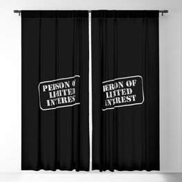Limited Blackout Curtain