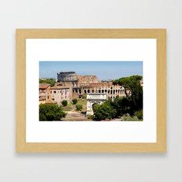The Coliseum Rome Framed Art Print