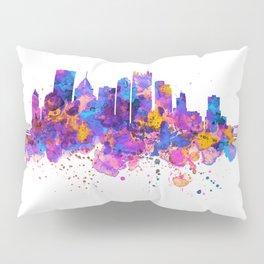 Pittsburgh Skyline Pillow Sham