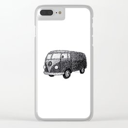 Campervan Peace Clear iPhone Case