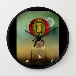 Winds of Change Steampunk Art Wall Clock