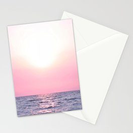 Calming Sea view Stationery Cards